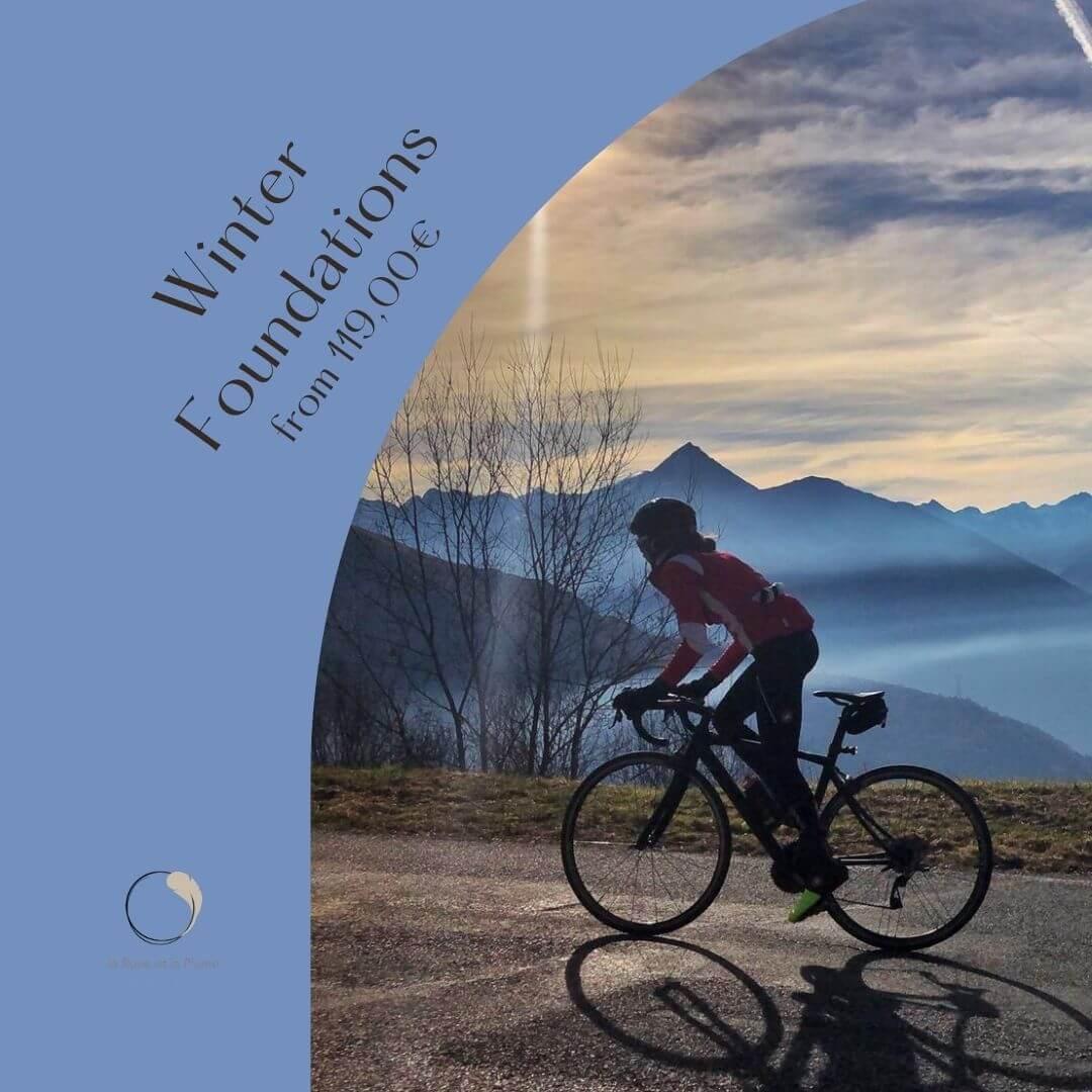 winter training cycling